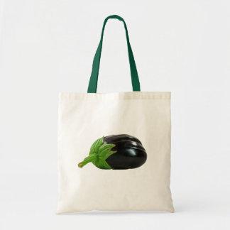 Eggplant Tote Bags