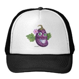 eggplant trucker hat