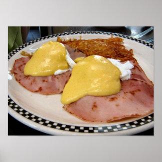eggs a Benedicto Póster