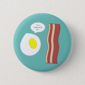 Eggs and Bacon Button