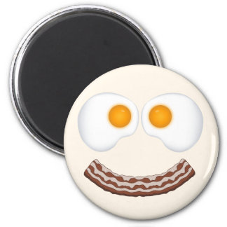 Eggs and Bacon Grin Magnet