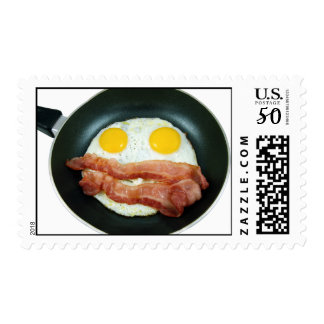 EGGS AND BACON postage
