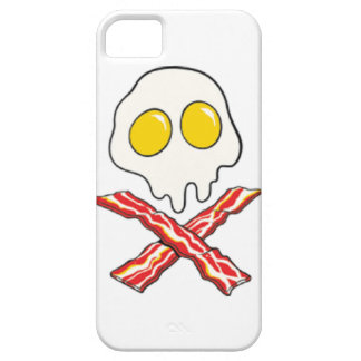 Eggs and Bacon Skull and Crossbones iPhone 6 Case