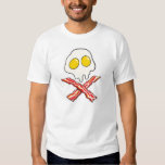 Eggs and Bacon Skull T-shirt