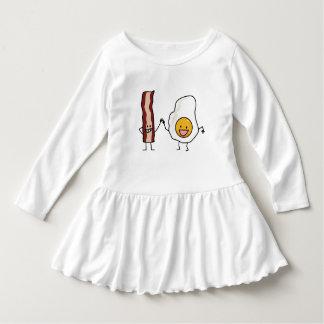 Eggs and Bacon Strips Combo Egg Breakfast Dress