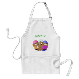 Eggs and Bunny Apron