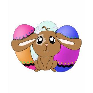 Eggs and Bunny Kids Ringer T-Shirt shirt