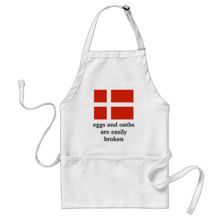 Eggs and Oaths are Easily Broken Aprons