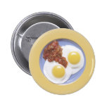 Eggs and Salsa 2 Inch Round Button
