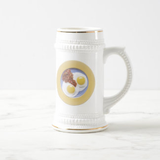 Eggs and Salsa Beer Stein