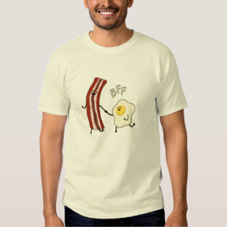 Eggs & Bacon BFF Best Friends Forever BFF tee shir