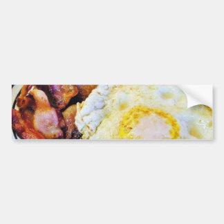 Eggs Bacon Breakfast Bumper Sticker