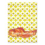 Eggs & Bacon Breakfast Monogram Custom Invites