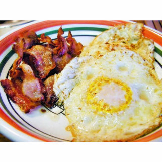 Eggs Bacon Breakfast Acrylic Cut Out