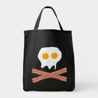 Eggs Bacon Skull Bags