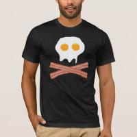 Eggs Bacon Skull T-Shirt