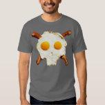 Eggs Bacon Skull Tee Shirt