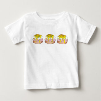 Eggs Benedict Breakfast Diner Food Foodie Ham Baby T-Shirt