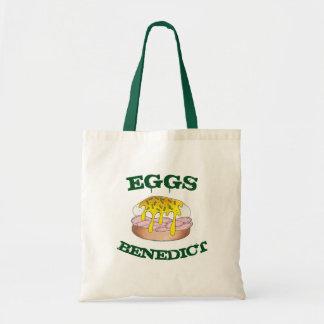 Eggs Benedict Diner Breakfast Food Egg Foodie Tote Bag
