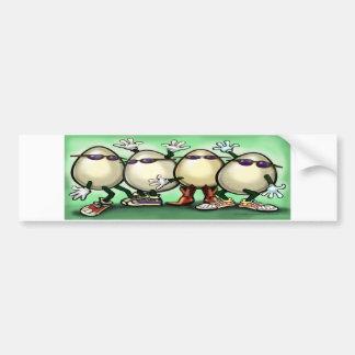 Eggs Bumper Sticker