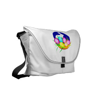 Eggs bunny blue oval graphic.png courier bag