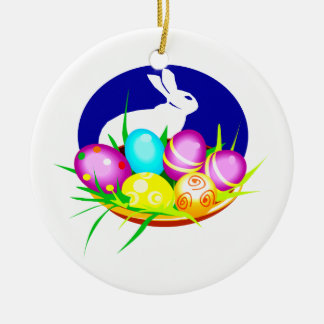 Eggs bunny blue oval graphic.png christmas tree ornaments