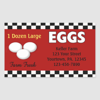 Eggs Custom Sticker