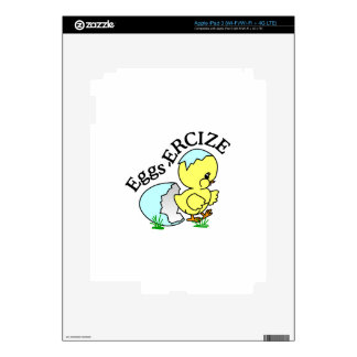 Eggs,Ercize iPad 3 Decal