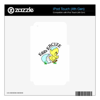 Eggs,Ercize iPod Touch 4G Decal