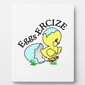Eggs,Ercize Plaque