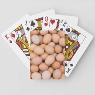 Eggs, Huaraz, Cordillera Blanca, Ancash, Peru Poker Cards