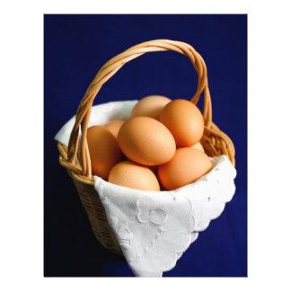 Eggs in a basket flyer