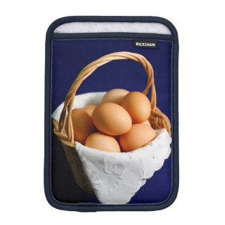 Eggs in a basket iPad mini sleeve