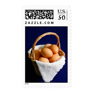 Eggs in a basket postage