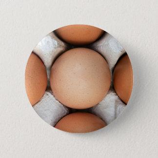 Eggs in a box pinback button