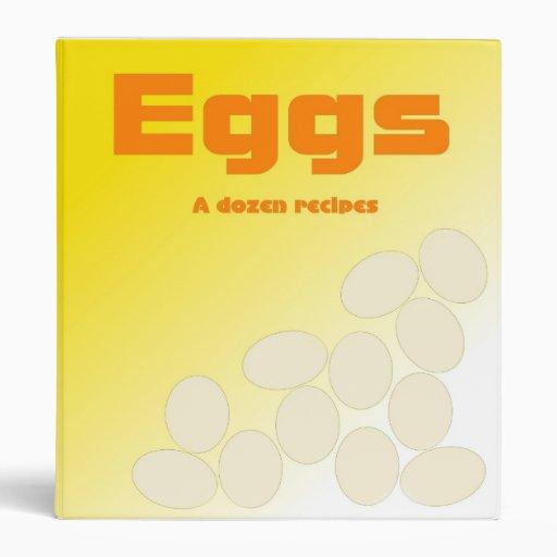 Eggs la carpeta de docena recetas