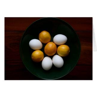 eggs & lemons card