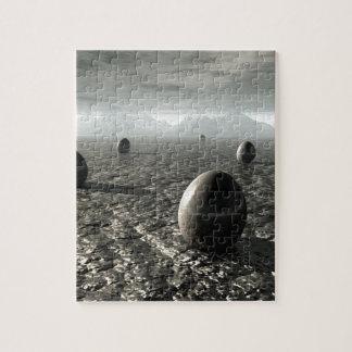 Eggs of An Alien World Jigsaw Puzzle