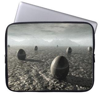Eggs of An Alien World Laptop Sleeve