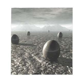 Eggs of An Alien World Note Pad