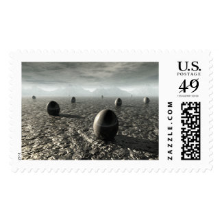 Eggs of An Alien World Postage