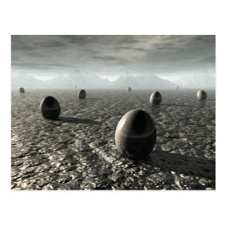 Eggs of An Alien World Postcard