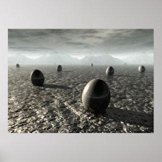 Eggs of An Alien World Poster