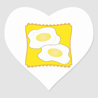 Eggs on a Plate Stickers
