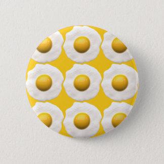 Eggs Over Easy Pinback Button