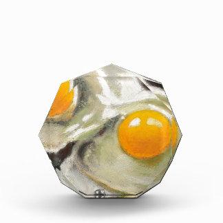 Eggs Still Life, Oil Pastel, Raw Egg Yolks Award