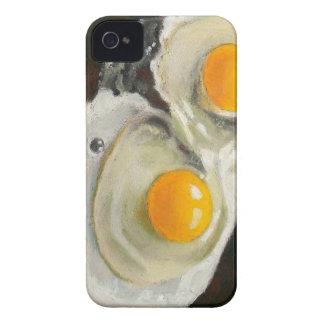 Eggs Still Life, Oil Pastel, Raw Egg Yolks Case-Mate iPhone 4 Case