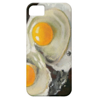 Eggs Still Life, Oil Pastel, Raw Egg Yolks iPhone SE/5/5s Case