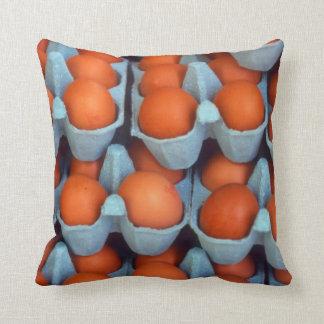 Eggs Throw Pillow