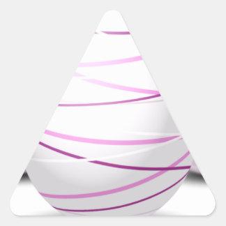 Eggs Triangle Sticker